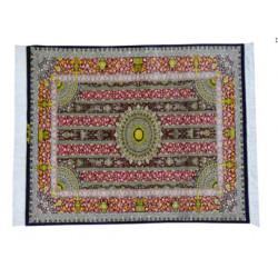 Rah Rah Design Pattern   Silk Qom Rug    RQ6017