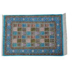 Kheshti Design Pattern | Silk Qom Rug  | RQ6043