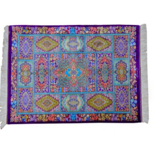 Ghabi Ghabi Design Pattern | Silk Qom Rug  | RQ6045