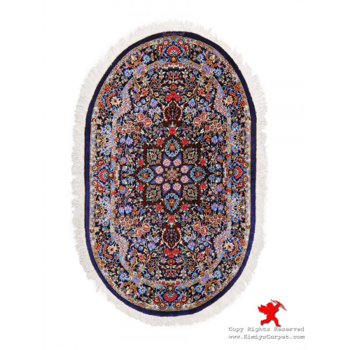 Medallion Design Silk Qum Rug - RQ5018