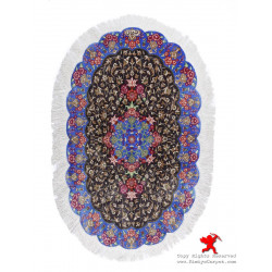 Medallion Design Silk Qum Rug - RQ5019