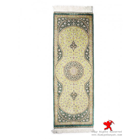 Runner Design Silk Qum Rug - RQ5024