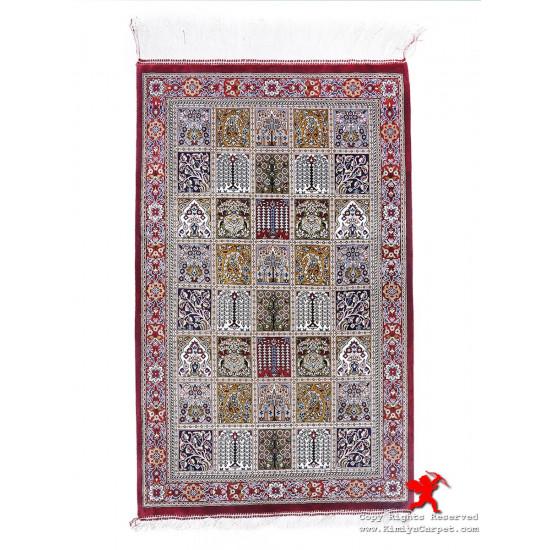 Kheshti Design Silk Qum Rug - RQ5029