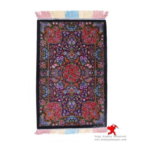 Medallion Design Silk Qum Rug - RQ5031