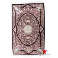 Medallion Design Silk Qum Rug - RQ5045