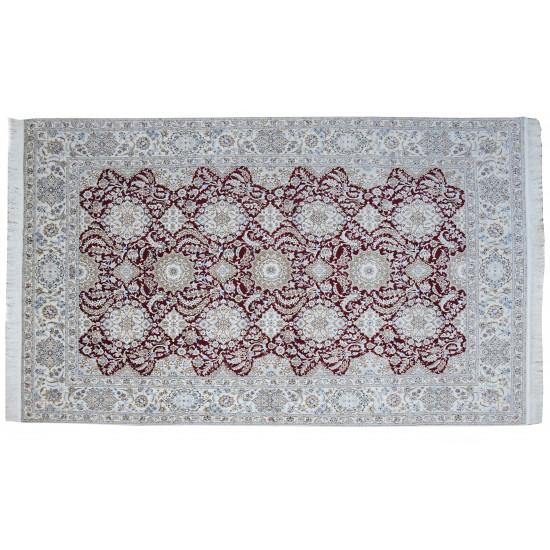 Ghabi Ghabi Pattern   Wool Nain Rug    RN6009