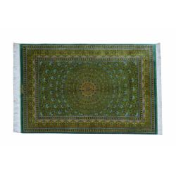 Gonbadi Design Pattern | Silk Qom Rug  | RQ6029