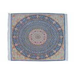 Gonbadi Pattern | Wool Isfahan Rug  | RI6002