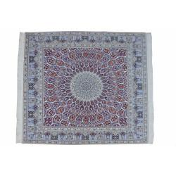 Gonbadi Pattern | Wool Nain Rug  | RN6003
