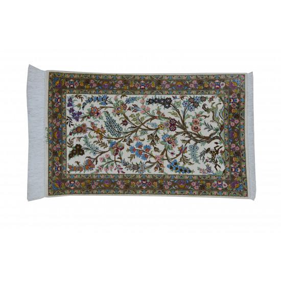 Derakhti Design Pattern | Silk Qom Rug  | RQ6010
