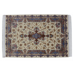 Medalion Design Pattern | Wool Isfahan Rug  | RI6010