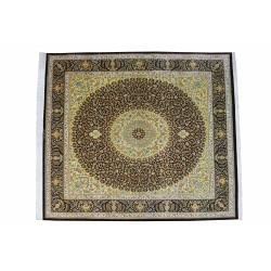 Medalion Design Pattern   Silk Qom Rug    RQ6024