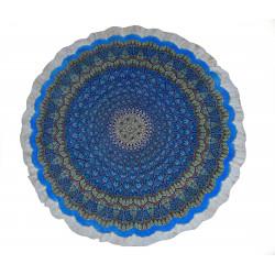 Medalion Design Pattern   Silk Qom Rug    RQ6035