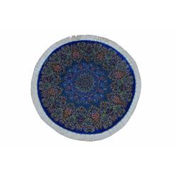 Medalion Design Pattern   Silk Qom Rug    RQ6036