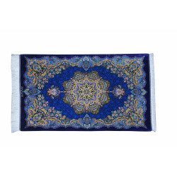 Medalion Design Pattern | Silk Qom Rug  | RQ6048