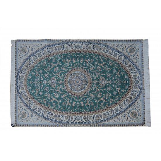 Medalion Pattern   Wool Nain Rug    RN6012