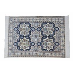 Framed Shaped Pattern | Wool Nain Rug  | RN6001