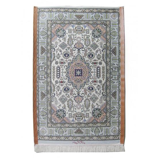 Medalion Design Silk & Wool Isfahan Persian Rug  -  RI5000