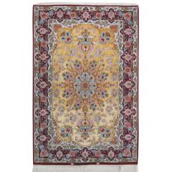 Medalion Design Silk & Wool Isfahan Persian Rug  -  RI5004