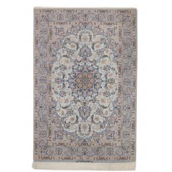 Medalion Design Silk & Wool Isfahan Persian Rug  -  RI5005