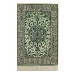 Medalion Design Silk & Wool Isfahan Persian Rug  -  RI5006