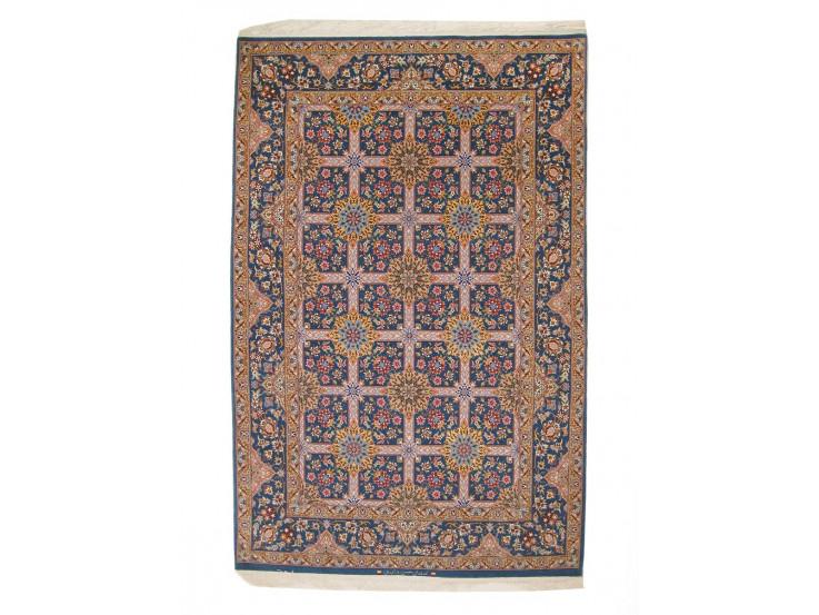 Kheshti Design Silk & Wool Isfahan Persian Rug  -  RI5009