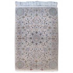 Medalion Design Silk & Wool Isfahan Persian Rug  -  RI5012