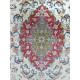 Medalion Design Silk & Wool Isfahan Persian Rug  -  RI5014
