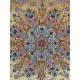 Medalion Design Silk & Wool Isfahan Persian Rug  -  RI5016