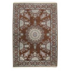 Medalion Design Wool & Cotton Nain Persian Rug  -  RN5005