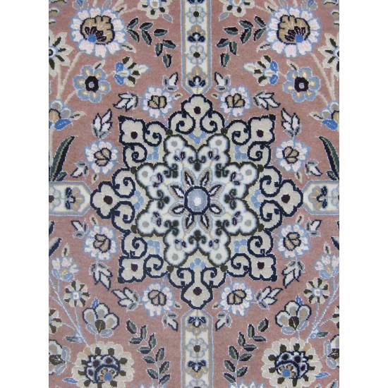 Kheshti Design Wool & Cotton Nain Persian Rug  -  RN5006