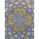 Gonbad Medallion Design Wool & Cotton Isfahan Persian Rug  -  RN5007