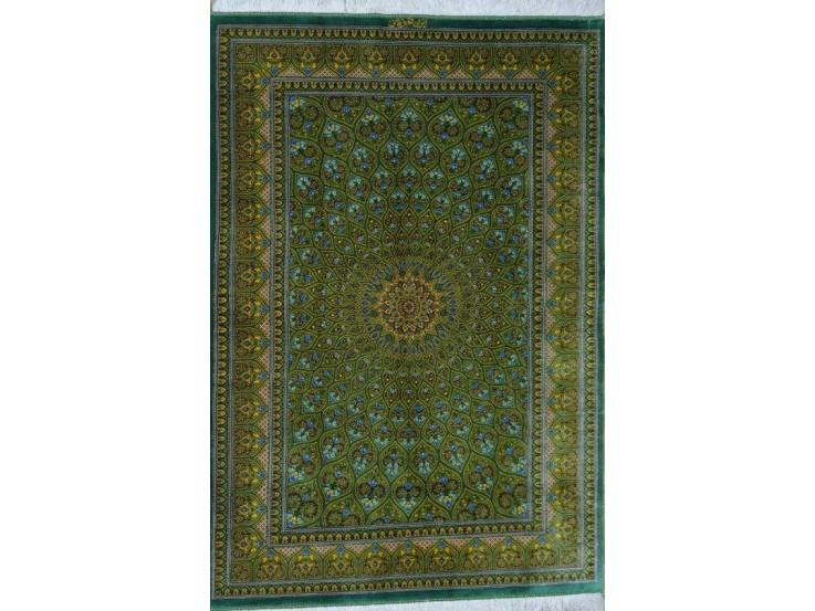 Gonbadi Design Silk Qum Rug - RQ5051